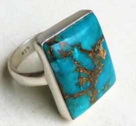 Bague en Turquoise et Argent