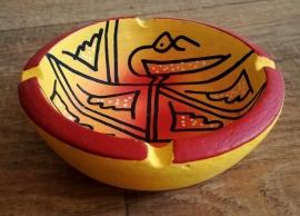 Bol en céramique d'Afrique jaune