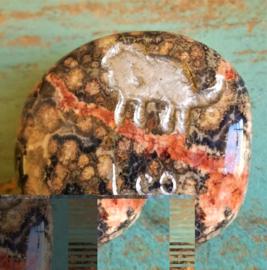 Signe Lion en Héliotrope