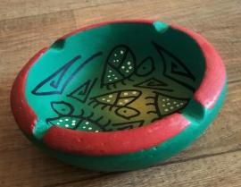 Bol en céramique d'Afrique peint à la main