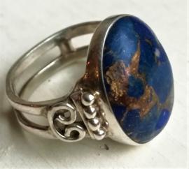 Bague en Argent et Lapis-Lazuli