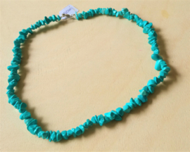 Chaîne fendue Turquoise