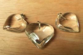 Pendentif Coeur en Cristal de roche