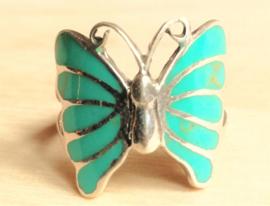 Bague Papillon avec Turquoise