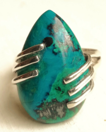 Ring Chrysocolla