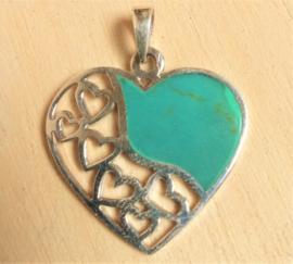 Pendentif Coeur en argent