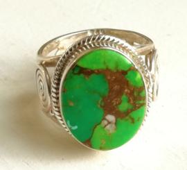 Ring Turkoois - Groen