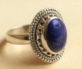 Bague Lapis Lazuli en argent