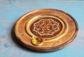 Porte-encens Fleur de Lotus / OM