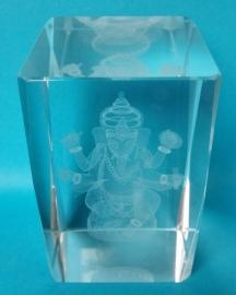 Ganesha en cristal