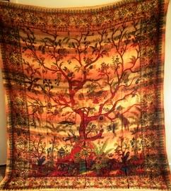 Grand Foulard Tree of Life