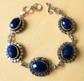 Bracelet Saphir en argent