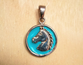 Hanger paard zilver