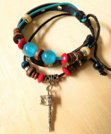 Bracelet Tibétain avec Moulin à Prière