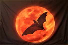 Tapisserie Pleine Lune et Chauve-souris