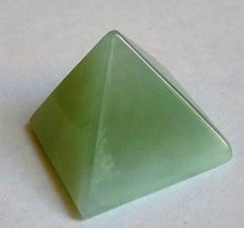 Pyramide en Jade Vert