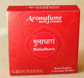 Briques d'encens Aromafume chakra 1