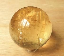 Sphère Calcite jaune