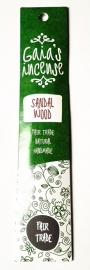 Gaia`s Incense Sandelwood