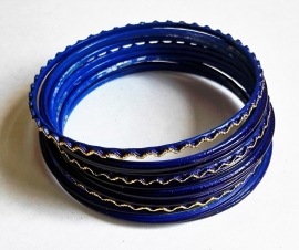 Bracelets indiens Bracelets Set Bleu