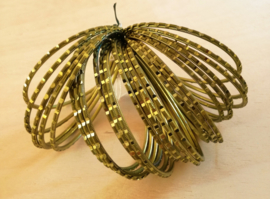 Indiase bangle armbanden groen