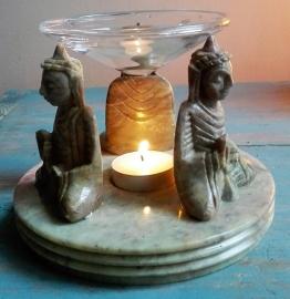 Aromabrander Boeddha zeepsteen