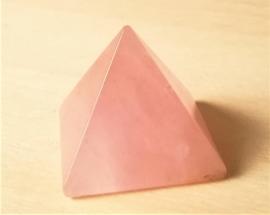 Edelsteen Piramide Rozenkwarts
