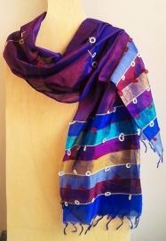 Indiase sjaal puur zijde