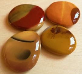 Jaspe mokaïte pierres