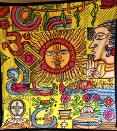 Grand Foulards spirituels