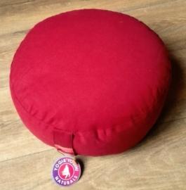 Coussin de méditation rouge chakra 1