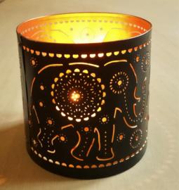 Porte-lumière elephant