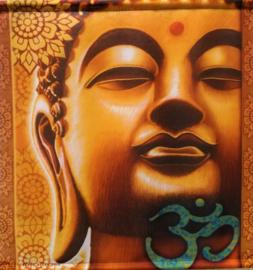 Bannière de méditation Bouddha