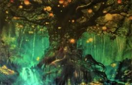 Wanddecoratie Levensboom