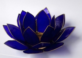 Sfeerlicht Lotus indigo