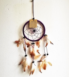 Attrape-rêves violet