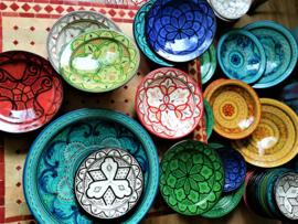 Bols de poterie