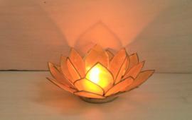 Lotus Capiz sfeerlicht geel