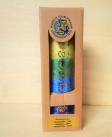 Chakra regenboog geurkaars