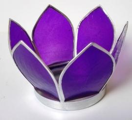 Chakra Lotus lichtje  paars