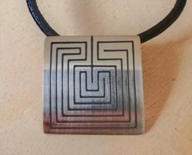 Pendentif 'Tapuat' a Hopi symbol en argent
