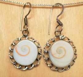 Boucles d`oreilles Shiva Oeil