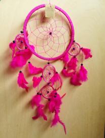 Attrape rêve rose