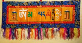 Porte-bannière tibétain