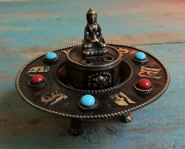 Porte-encens tibétain - Bouddha