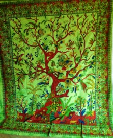 Grand Foulard Tree of Life - verticaal