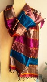 Sjaal Indiaas puur zijde