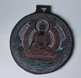 Leisteen reliëf  Medicijn Boeddha