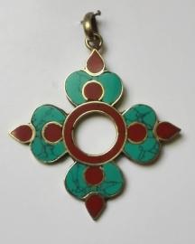 Pendentif tibétain Vajra