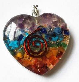 Pendentif Orgone Coeur